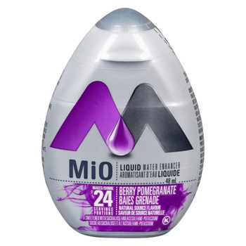 MiO Berry Pomegranate Liquid Water Enhancer, (48mL/1.6 oz.), {Imported from Canada}