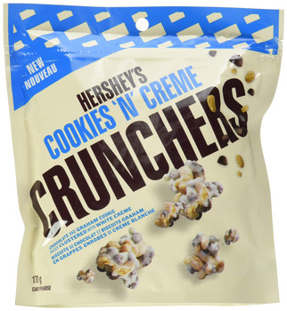 HERSHEY'S CRUNCHERS Snack Mix, Cookies 'N' Creme, 170g/6 oz., {Imported from Canada}