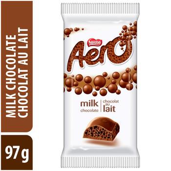 AERO Milk Chocolate, 97g/3.4 oz., Bar, {Imported from Canada}