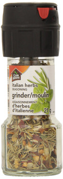 Club House, Quality Natural Herbs & Spices, Italian Herbs Seasoning, Grinder, 21g (Imported from Canada)