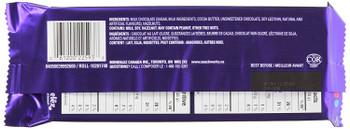 Cadbury Dairy Milk Hazelnut Chocolate, 100g/3.5 oz Bar, {Imported from Canada}