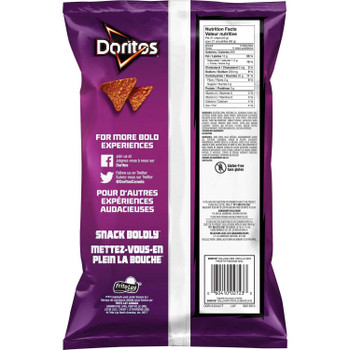Doritos Bold BBQ Tortilla Chips, 255g/9 oz., {Imported from Canada}