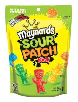 Maynards Gummy Sour Patch Kids , 355g/12.5 oz., (6 Pack) {Imported from Canada}