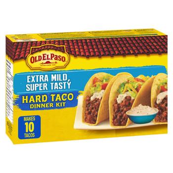 Old El Paso Hard Taco Extra Mild Super Tasty Dinner Kit , 330g/11.6 oz., {Imported from Canada}