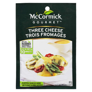 McCormick Gourmet, Dry Sauce Mix, Three Cheese, 38g/1.3 oz., {Imported from Canada}
