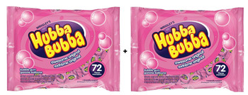 Hubba Bubba Awesome Original Fun Size, 72ct, 5g/0.2oz per piece, 2 Pack {Imported from Canada}