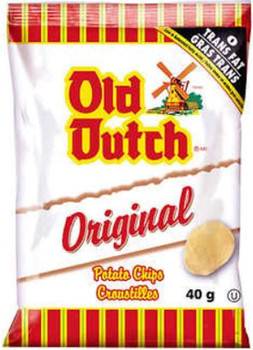 Old Dutch Original Flavoured Potato Chips (40 pack x 40g/1.4oz) {Imported from Canada}