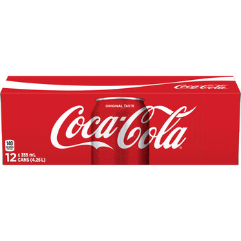 Coca-Cola Coke Classic 355ml  12pk, Soft Drinks - {Imported from Canada}