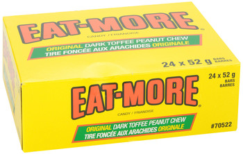 Hershey EAT-MORE Chocolate Bars, 24 Count (52g/1.8 oz) {Imported from Canada}
