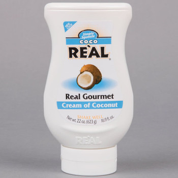 Coco Real Cream of Coconut, 595g/21 oz., Cocktail Mix - {Imported from Canada}