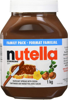 Nutella Hazelnut Chocolate Spread, 1kg/35.3 oz., {Imported from Canada}