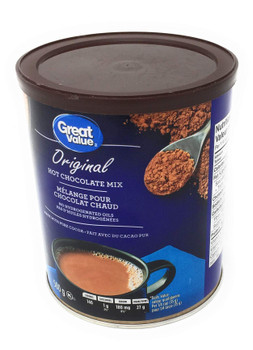 Great Value Original Hot Chocolate Mix - 500g/17.6 oz., {Imported from Canada}