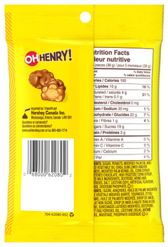 OH HENRY! Halloween Chocolatey Candy Mix, 104g/3.7 oz., (Pack of 4) {Imported from Canada}