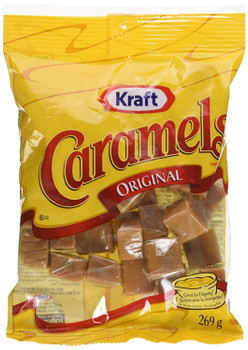 Kraft Original Caramels - 3 Pack, Net Weight 807g/28.5 oz., {Imported from Canada}