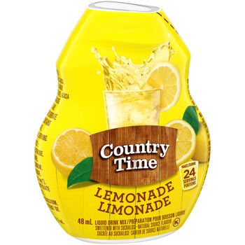 COUNTRY TIME Liquid Drink Mix - Lemonade 48ml (Imported from Canada)