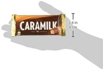 Cadbury Caramilk Chocolate Bar, 50g/1.8 oz., {Imported from Canada}