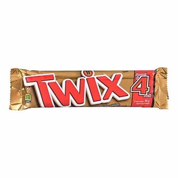 Twix Cookie Bar 2-Piece King Size, 85g/3 oz. per bar, 24pk {Imported from Canada}