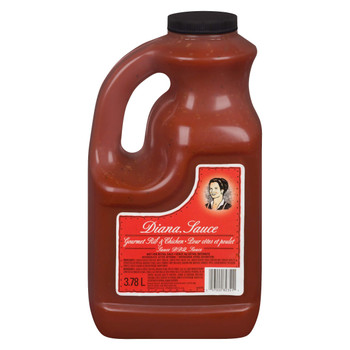 Diana Rib & Chicken BBQ Sauce, 3.78 L/1 Gallon Jug,  {Imported from Canada}