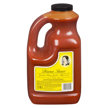 Diana Honey and Garlic BBQ Sauce 3.78 L/ 1 Gallon Jug, {Imported from Canada}