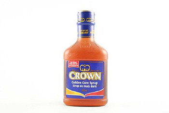 Crown Golden Corn Syrup, 500ml/16.9 fl oz., {Imported from Canada}