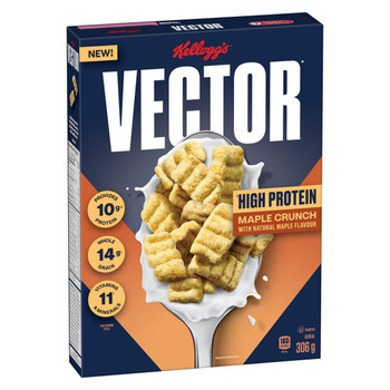 Vector Maple Crunch Cereal 306g/10.8 oz., {Imported from Canada}