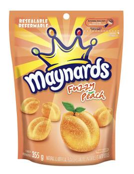 Maynards Fuzzy Peach Candy, 355g/12.5 oz {Imported from Canada}