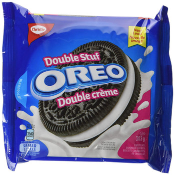 Oreo Double Stuf Sandwich Cookies, 303g/10.7oz (Imported from Canada)