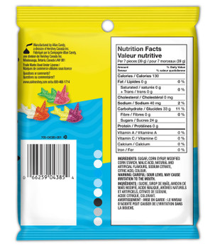 Jolly Rancher Misfits Tropical Uni,Sharks Gummy Candy, 182g/6.4 oz. Bag {Imported from Canada}