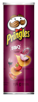 Pringles BBQ Flavor Potato Chips, 156g/5.5 oz., {Imported from Canada}
