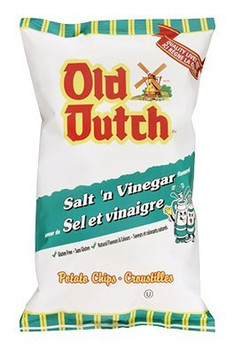 Old Dutch 40pk Salt Vinegar Chips (40g / 1.4oz per pack) {Imported from Canada}