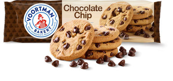 Voortman Bakery Chocolate Chip Cookies, 350g/12.3 oz., {Imported from Canada}