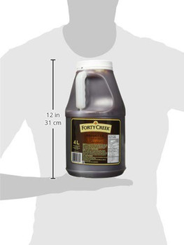 Forty Creek Original BBQ Sauce 4 Litres/1.1 Gallon Jug, {Imported from Canada}
