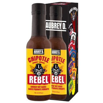 Aubrey D. Chipotle Hot Sauce, 150ml/5.1 fl. oz., {Imported from Canada}