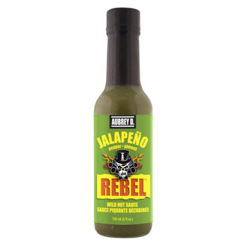 Aubrey D. Jalapeno Hot Sauce, 150ml/5.1 fl. oz., {Imported from Canada}