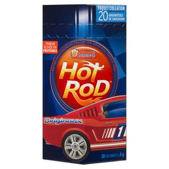 Schneiders Hot Rod Sausage Snacks, Original Flavour, (20pk) 8g/0.3 oz., {Imported from Canada}
