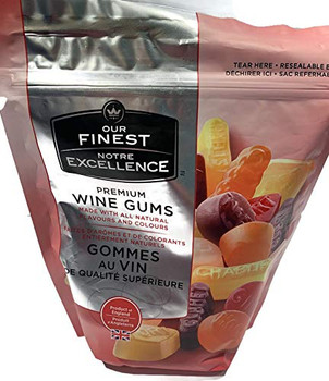 Our Finest Wine Gum (400g), Jelly Beans (300g) & Liquorice Allsorts 400g) Combo Pack, {Imported from Canada}