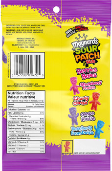 Maynards Sour Patch Kids, Berries, Candy, 185g/6.5 oz., {Imported from Canada}