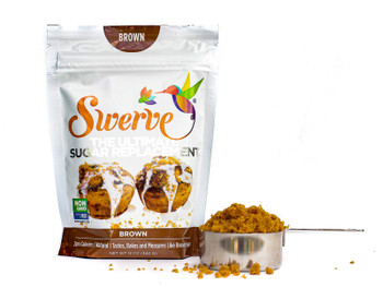 SWERVE Granular Brown Sugar Sweetener, 340g/12 oz., {Imported from Canada}
