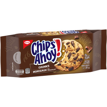 Christie Chips Ahoy! Chunks Chocolate-Chip - Cookies, 251g/8.9 oz. {Imported from Canada}