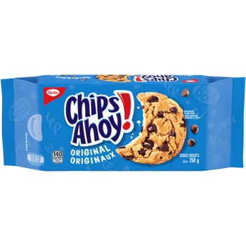 Christie Chips Ahoy! Original Chocolate-Chip Cookies, 258g/9.1oz. (Imported from Canada)