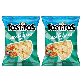 Tostitos Restaurant Style Chips 275g/9.7oz, 2-Pk {Imported from Canada}