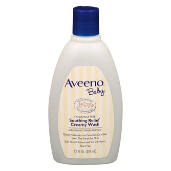 Aveeno Baby Soothing Relief Creamy Wash, 354ml/12 oz. {Imported from Canada}