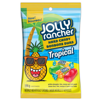 JOLLY RANCHER Tropical Hard Candy, 198g/7 oz., (2 Pack) {Imported from Canada}