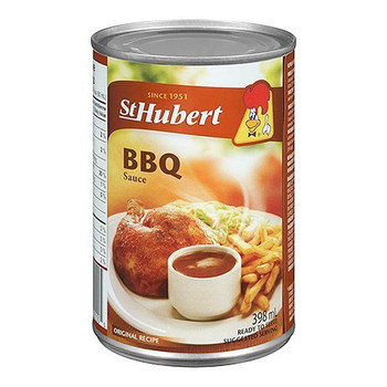 St Hubert, BBQ Sauce, 398ml/13.5 fl. oz., Cans (Pack of 5) {Imported from Canada}
