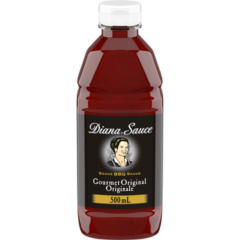 DIANA Sauce,  Original, 1 Count, 500ml/16.90 oz. {Imported from Canada}