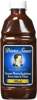 DIANA Sauce, Smokehouse Flavour, 1ct, 500ml/16.90 oz.{Imported from Canada}