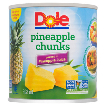 Dole Pineapple Chunks 398 ml/13.5 oz., Can {Imported from Canada}