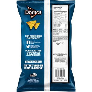 Doritos Tortilla Chips Cool Ranch 255g/9 oz., {Imported from Canada}
