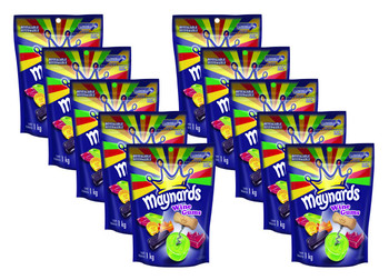 Maynards Wine Gums Candy, 1kg/2.2 lbs., 10 Pack, {Imported from Canada}