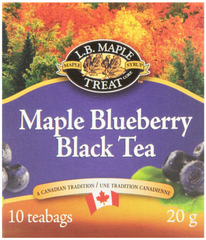 L.B. MAPLE TREAT, Maple Blueberry Herbal Tea,  20g, {Imported from Canada}
